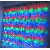 Quality Super bright 110V christmas lights waterfall for buildings for sale