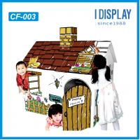 China customized corrugated cardboard funiture for kid on sale