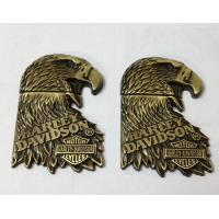China 3D metal eagle emblem plaque, China factory for embossed metal eagle signs at best price, on sale