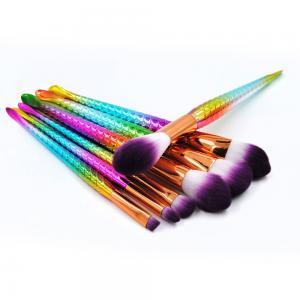 Buy cheap Professional Makeup Brush Set, Cosmetic Brush Set, 7 Pcs Mermaid Makeup Brushes from wholesalers