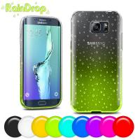 Best Personalised Soft plastic Samsung Galaxy S6 Edge  case cover with multi colors wholesale