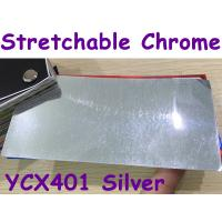 Quality Stretchable Chrome Mirror Car Wrapping Vinyl Film - Chrome Silver for sale