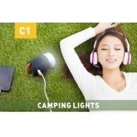 Quality Hand Crank Portable Led Camping Lights Rechargeable Camping Lantern Power Bank for sale