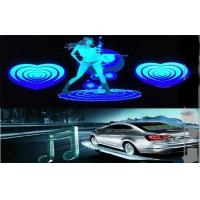 Quality Car Audio Voice Rhythm Light , Sound Music Activated Dancing Car LED Equalizer Sticker for sale