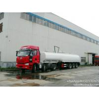 China dilute sulfuric acid tanks truck trailer plastic lining factory sa on sale