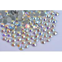 Buy Shoes / Garment Loose Hotfix Rhinestones Extremely Shiny High Color Accuracy at wholesale prices