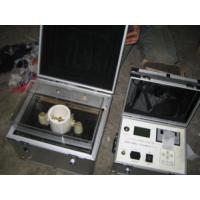 Quality Bdv Insulating Oil Dielectric Strength Tester for sale