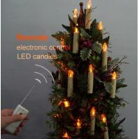 Best Remote Control Candle Christmas Light Remote Control LED Candle 10-PACK Model No: Christmas Light Remote Control LED Candle 10-PACK wholesale