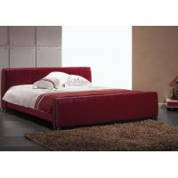 King Leather Bed 6009#