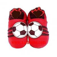 YS2009-1 Baby Leather Shoes - Football
