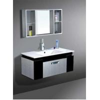 China PU-F10046 P Style - Stainless Steel Bathroom Mirror Cabinet Units on sale