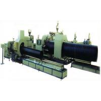 Double wall HDPE corrugated pipe extrusion line