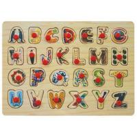 Best Alphabet peg puzzle wholesale