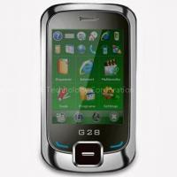 Best GSM Phones with GPS WiFi Fashion UI EDGE Tri-Bands Mirror Screen Touch Lens Windows Mobile 6.0 wholesale
