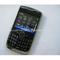 China F020 Blackberry 8900 copy TV mobile phone wifi java two sim cards quad band on sale