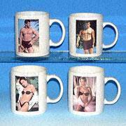 China GTC-7556B-1 Strip Mug Changes Picture with Hot Drinks on sale