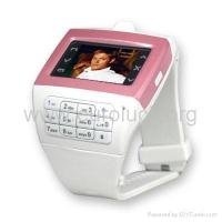 China paypal+ship+Wrist Watch Cell Phone - Tri-band Camera Mobile Phone EG100 on sale