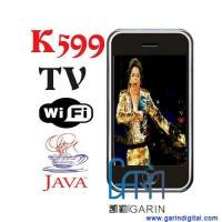 China K599 Dual SIM Card Phone With Wifi JAVA Colour TV Bluetooth built in 2GB on sale