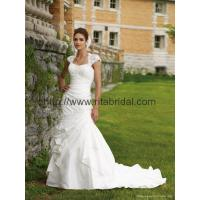 Quality wholesale and retail 2011 luxury long train wedding dress N-01 for sale