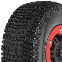 China 1/8th Off-Road Tyres PL1153-12 Pro-Line'Bow-Tie' SC 2.2/3.0 Tyres Pre-mounted on Split Six Wheels for Traxxas Slash on sale