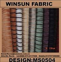 China Apparel & Textile Decoration Upholstery Fabric Model Number: MS0504 on sale