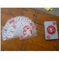Quality Plastic playing card Name:clear PVC card | Product Type:002 | Standard:Content: hits:49 | Post Date:2008-6-10 11:08:57 Buy for sale