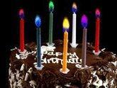 Best Colourful Flame Candles colour flame birthday candle MODEL: 17CB06 wholesale