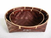 China Sell bamboo baskets on sale