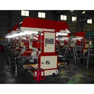 Buy Doctor Blade type 2COLORS FLEXOGRAPHIC PRINTING MACHINE at wholesale prices