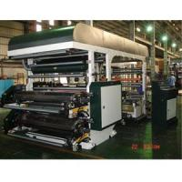 Quality Standard type 4 COLORS FLEXOGRAPHIC PRINTING MACHINE for sale