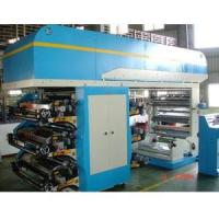 Quality Standard type 6 COLORS FLEXOGRAPHIC PRINTING MACHINE for sale