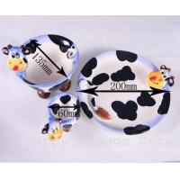 Best Cow Ceramic Candle Holder/Soap Plates wholesale