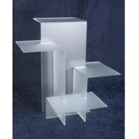 China No. #AR-006 Frosted White Acrylic Display Riser on sale