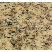 Quality Granite Tiger Skin Yellow Island Top for sale