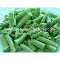 China Freeze Dried Vegetables Freeze Dried Green Beans Cuts on sale