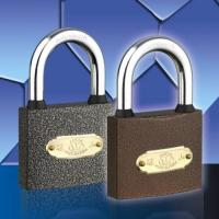 Quality Spray Paint Padlock Plastic Paint (With Rubber) Padlock for sale