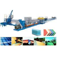 China XPS polystyrene foam insulation board extrusion line on sale