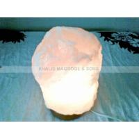 China Crystal White Natural Salt Lamps on sale