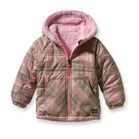 China Patagonia Baby Reversible Tribbles Jacket (Pink Camellia) on sale