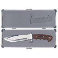 China Tool Case Aluminum Case for Commemorative Military KnifeAn aluminum display case showcases the appeal of this commemorative military knife. The heavy and well built case measures 12 3/4 x 4 3/8 x 1 1/2. on sale