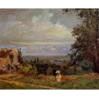 Quality Impressionist(3830) Landscape_near_Louveciennes_2 for sale