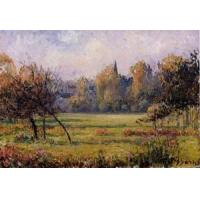 Quality Impressionist(3830) Landscape_at_Bazincourt for sale