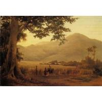 Quality Impressionist(3830) Antillian_Landscape,_St._Thomas for sale