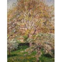 Quality Impressionist(3830) Walnut_and_Apple_Trees_in_Bloom,_Eragny for sale