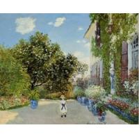 Quality Impressionist(3830) The_Artist-s_House_at_Argenteuil for sale