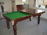 Quality POKER CHIPS Zoom SNOOKER TABLEWITH DINNING TABLE Model No.:H-607 Size: 9ft & 8ft for sale