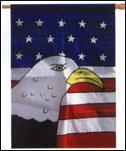 China Us Flags 1002 on sale