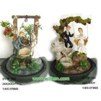 China Polyresin Water Fountain for Wedding Decoration on sale