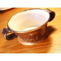 China Ceramics Brown soup bowl on sale