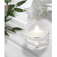 Quality Silver Star Placecard Holder with Candle Holder[Item# FC4637] for sale